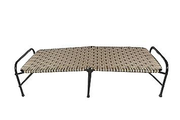 Klassic Single Size Folding Bed | Iron Folding Bed for Household Purpose