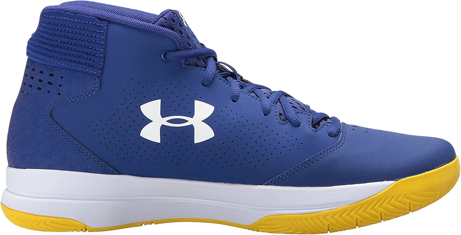 Under Armour Mens Ua Jet Mid Basketball Shoes