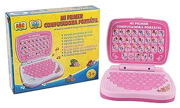 Amazon.com : Pasaca Toys Kids Spanish Learning Laptop, My ...