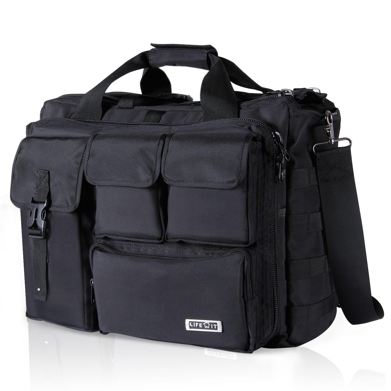 064711017f4f0 Lifewit Pouces Sac Ordinateur Portable, Sac à Bandoulière Laptop pour Homme  Sac Porte-Documents