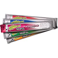 Sqwincher - 159200209 Sqweeze Zero Sugar Freezer Pops, 5 Assorted Flavors, 3 oz Packet (5 Bags of 10 pops)