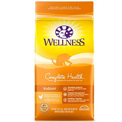 Amazon Com Wellness Complete Health Natural Dry Cat Food Indoor