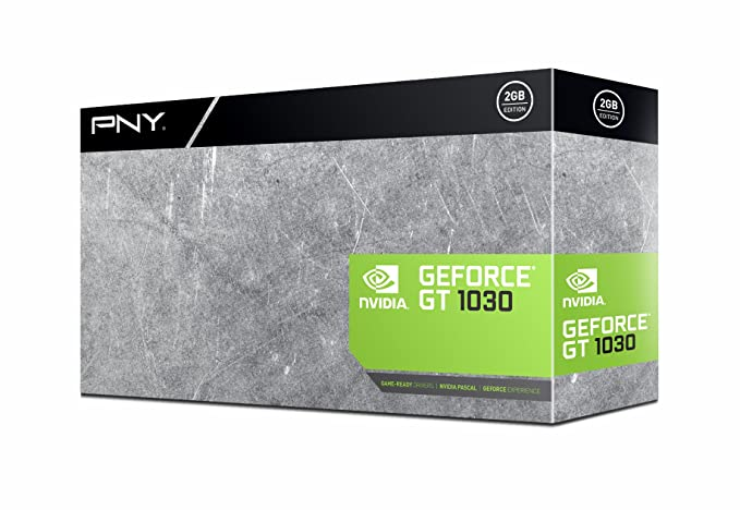 Amazon.com: PNY GeForce GT 1030 Tarjetas gráficas 2 GB ...