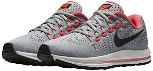 2d8cf2c6a Nike Wmns Air Zoom Vomero 12, Scarpe da Corsa Donna, Grigio (Gris Loup