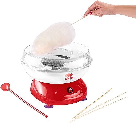 Domoclip DOP136 500W Rojo algodonera de azúcar - Máquina de ...