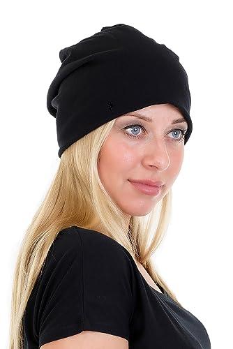 Cappello Maglia Beanie Jersey - Berretti a Maglia piccola fata de 3Elfen Donna bambina
