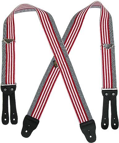 Welch - Tirantes elásticos para hombre, diseño de bandera estadounidense, multicolor American Flag X-Largo: Amazon.es: Ropa y accesorios