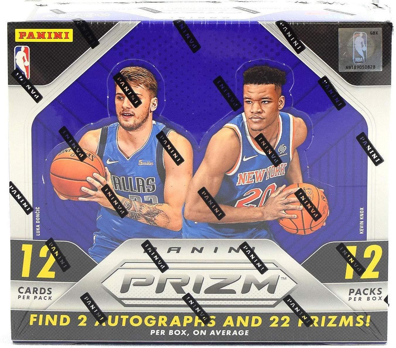2018/19 Panini Prizm NBA Basketball HOBBY box (12 pk)