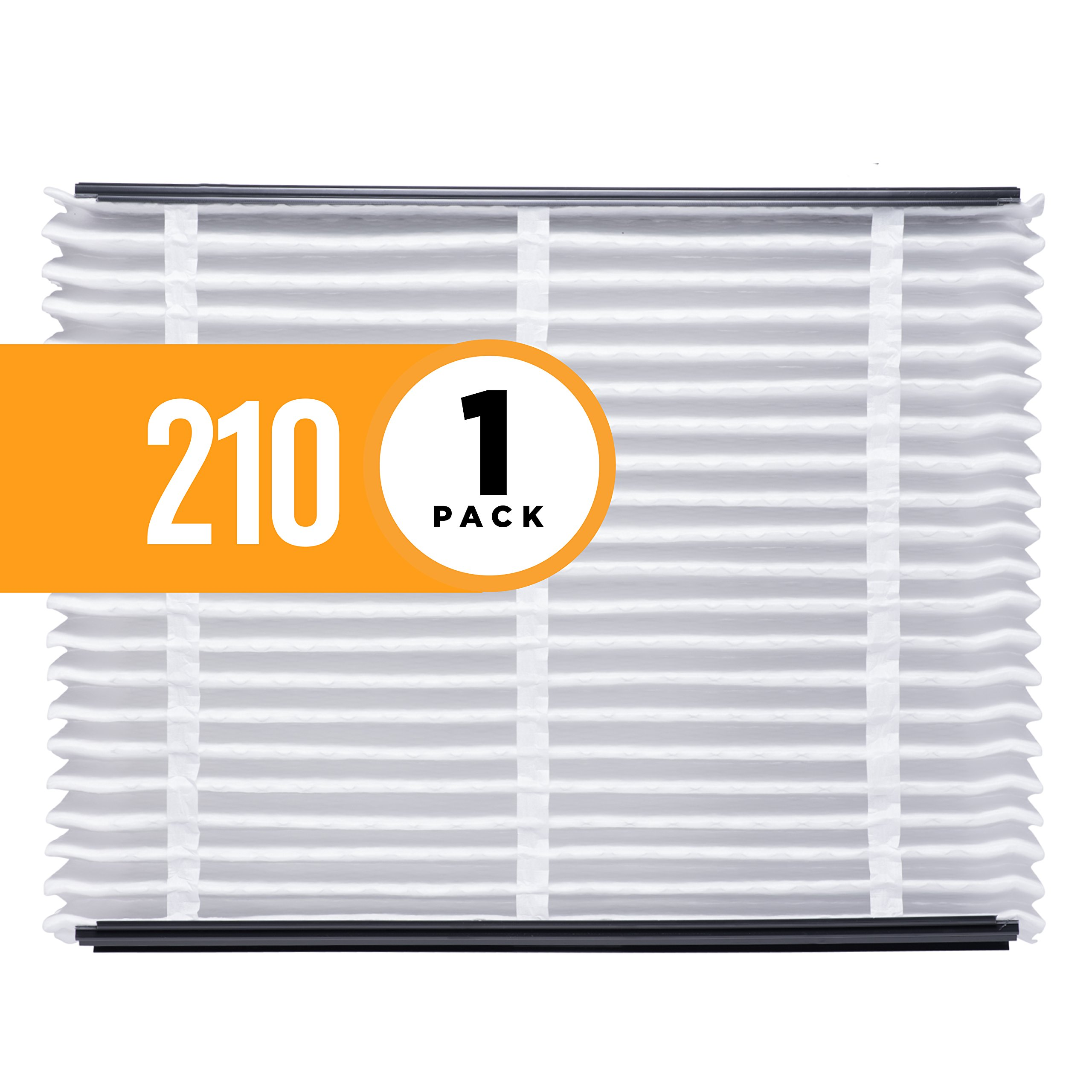 Aprilaire 210 Air Filter for Aprilaire Whole Home Air Purifiers, MERV 11 (Pack of 1)
