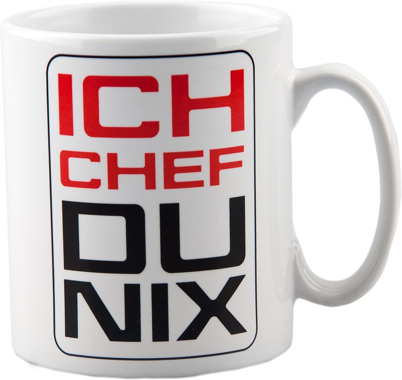 TASSE Kaffeebecher BESTER CHEF Geschenk Spruch Motiv Job Arbeit Büro Mitarbeiter