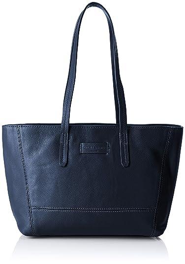 349247f906 Liebeskind Berlin Essential Shopper Medium, Sacs portés épaule femme, Bleu  (Navy Blue)