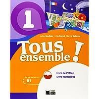 Tous Ensemble 1 Livre De L'eleve + Dvd-rom (Chat Noir. methodes) - 9788468217888