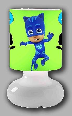 Lámpara de mesa PJ MASKS catboy: Amazon.es: Iluminación