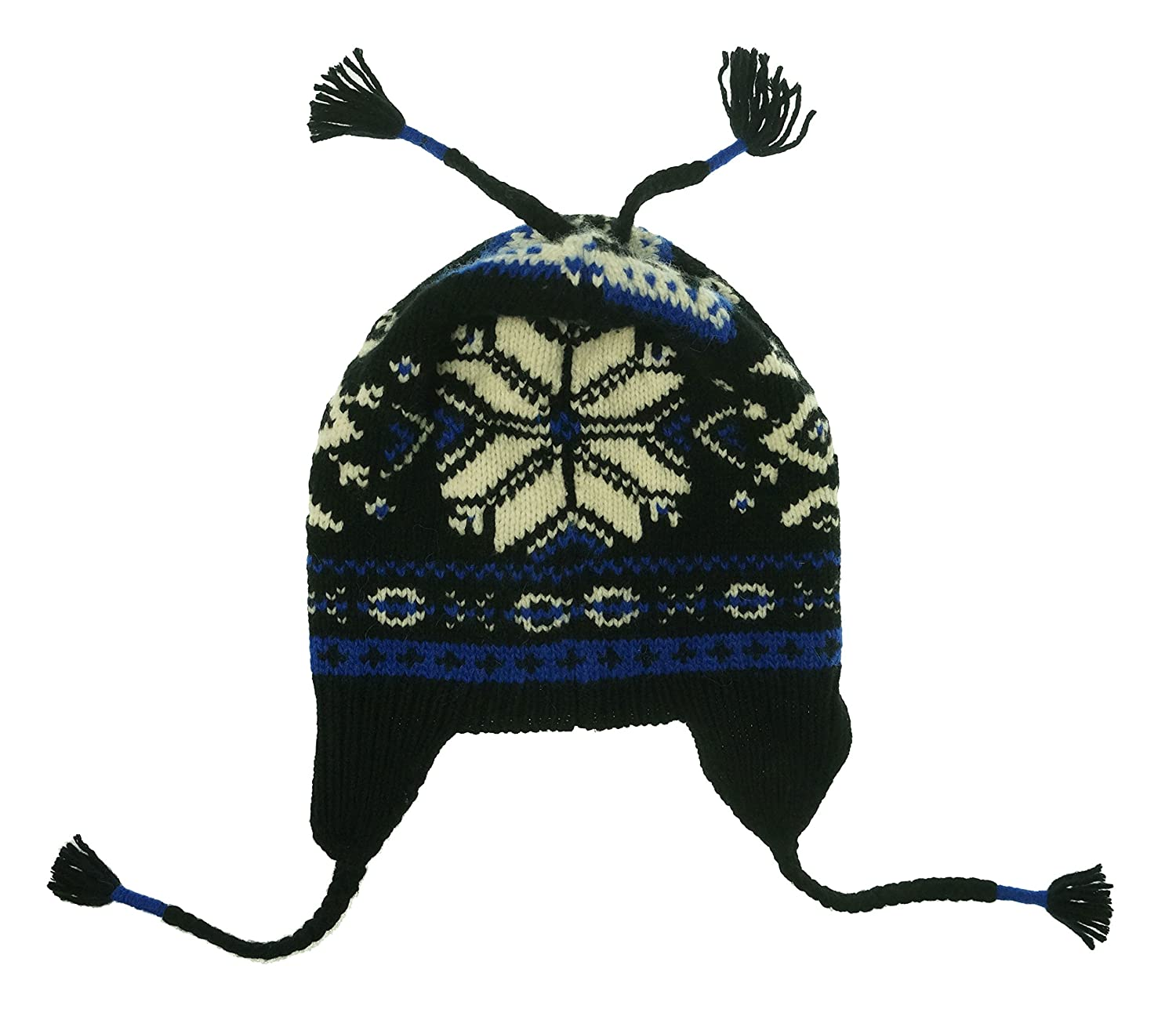dfb54e76c55 Polo Ralph Lauren Mens Wool Fair Isle Winter Hat Black O S at Amazon Men s  Clothing store