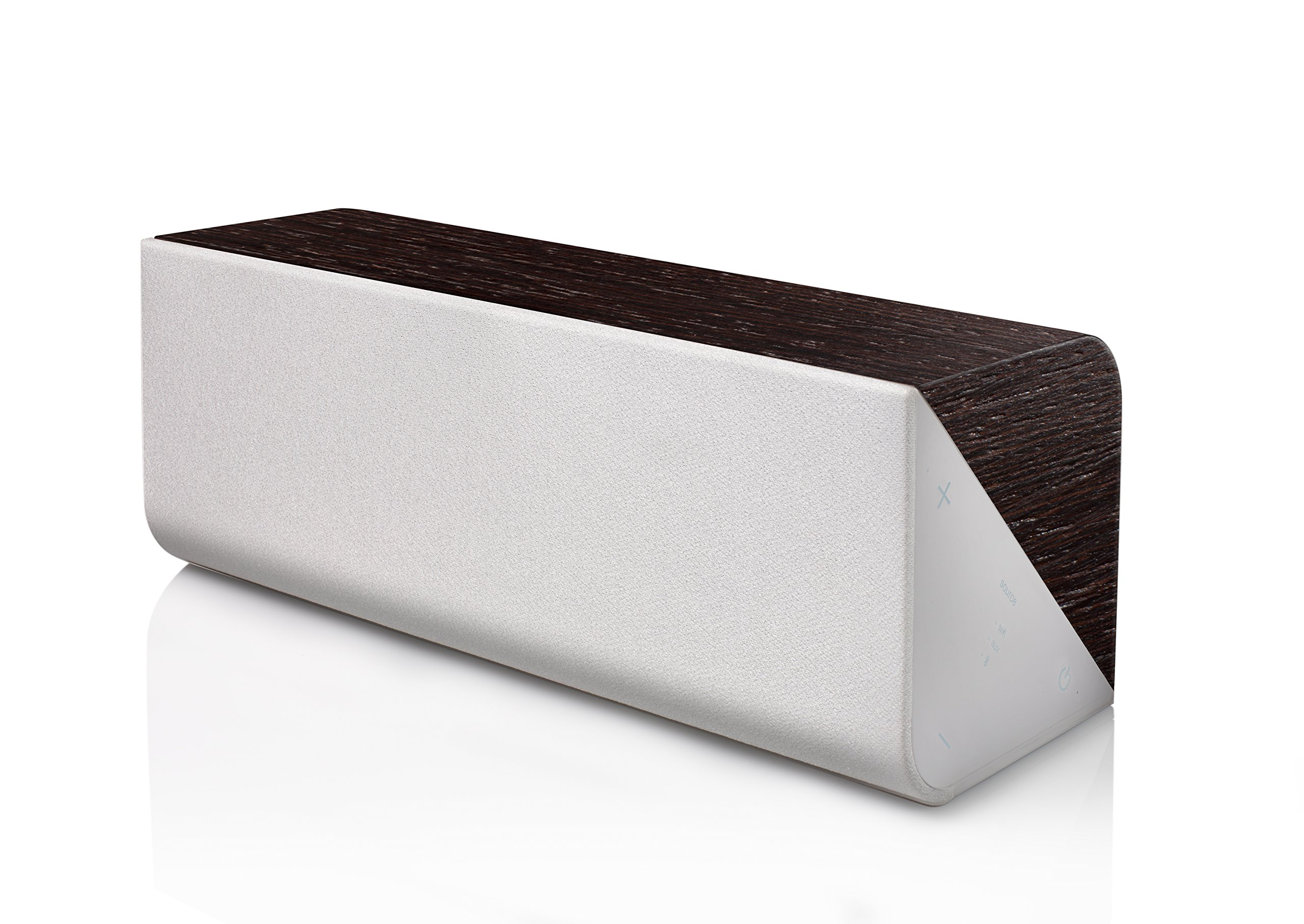Wren Sound V3USP Portable Wireless speaker with AirPlay, Bluetooth and DTS Play-FI - (Wenge with Espresso Finish)