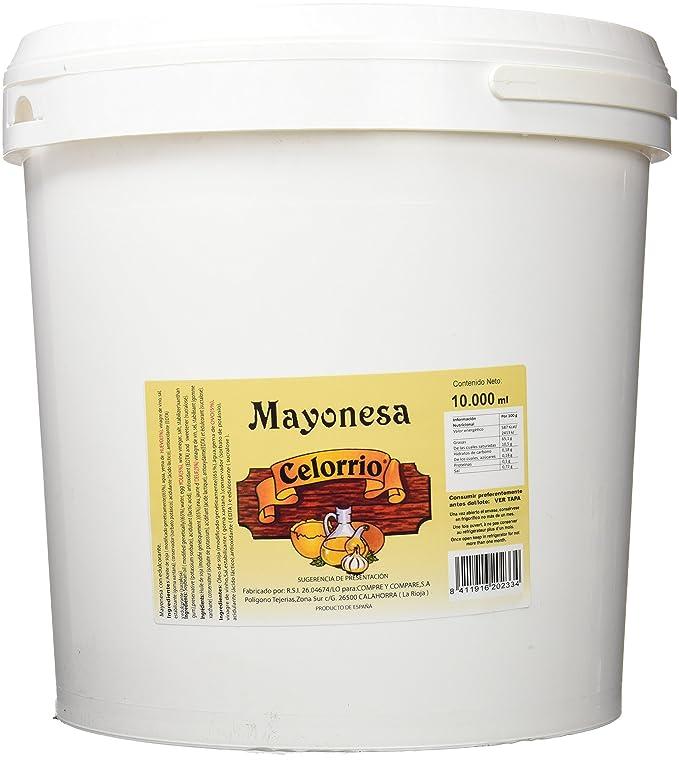 Celorrio 80-80039C Mayonesa Cubo - 10 litos: Amazon.es ...