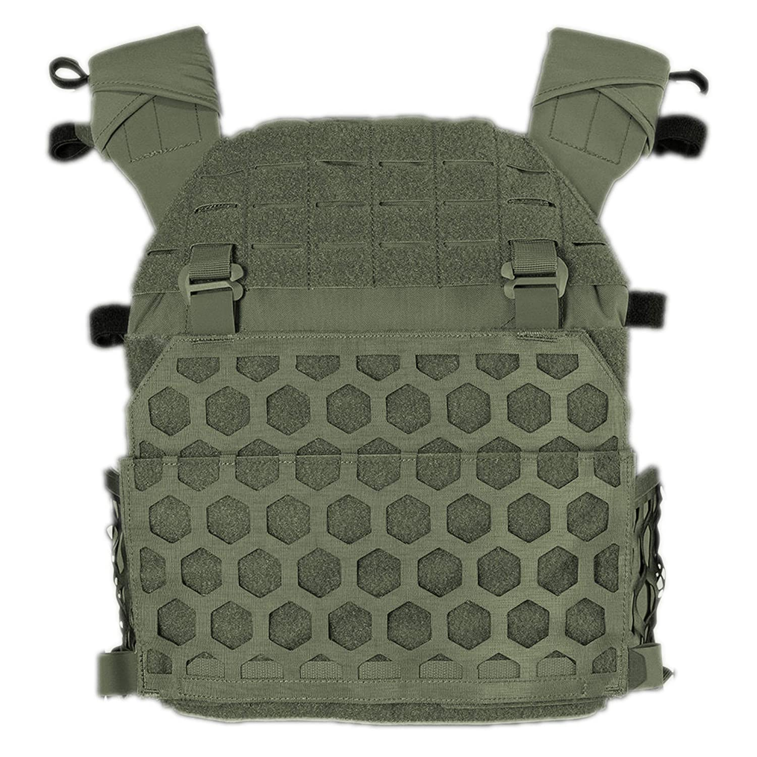 5.11 Tactical All Mission Plate Carrier HEXGRID® Ranger Grün