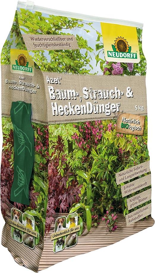 Neudorff Azet – Algodón, matorrales y Setos abono, 5 kg: Amazon.es: Jardín