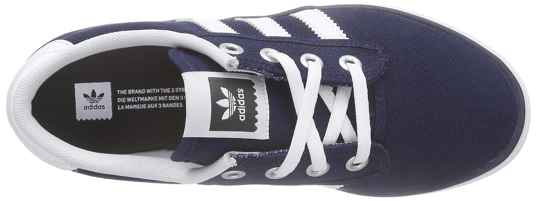 adidas Kiel - Zapatillas para Hombre, Color Azul Marino/Blanco, Talla 35: Amazon.es: Zapatos y complementos