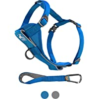 Kurgo Dog Harness   Pet Walking Harness   No Pull Harness Front Clip Feature for Training Included   Car Seat Belt   Tru…