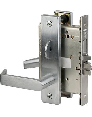 Schlage AL53PD JUP 626 C123 Keyway Series AL Grade 2 Cylindrical Lock C123 Keyway Jupiter Design Satin Chrome Finish Entrance Function