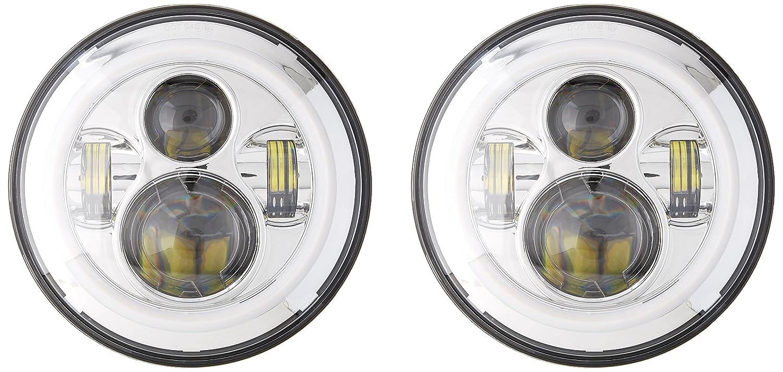 Euro Housing Spec-D Tuning LH-RAN98-ABM Chrome Headlight