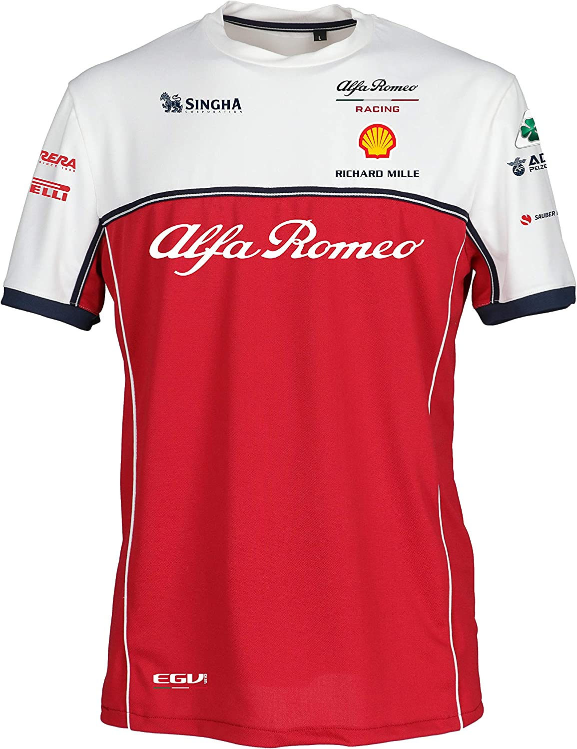 Alfa Romeo Racing F1 2019 Men's Team T-Shirt (M)