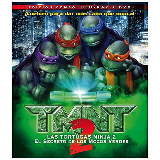 Amazon.com: Tmnt 2: El Secreto De Los Mocos Verdes (Blu-Ray) (Import Movie) (European Format - Zone B2) (2012) Paige Turco: Movies & TV