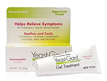 YeastGard Advanced Homeopathic Gel Treatment - for External Yeast Infection  Symptom Relief