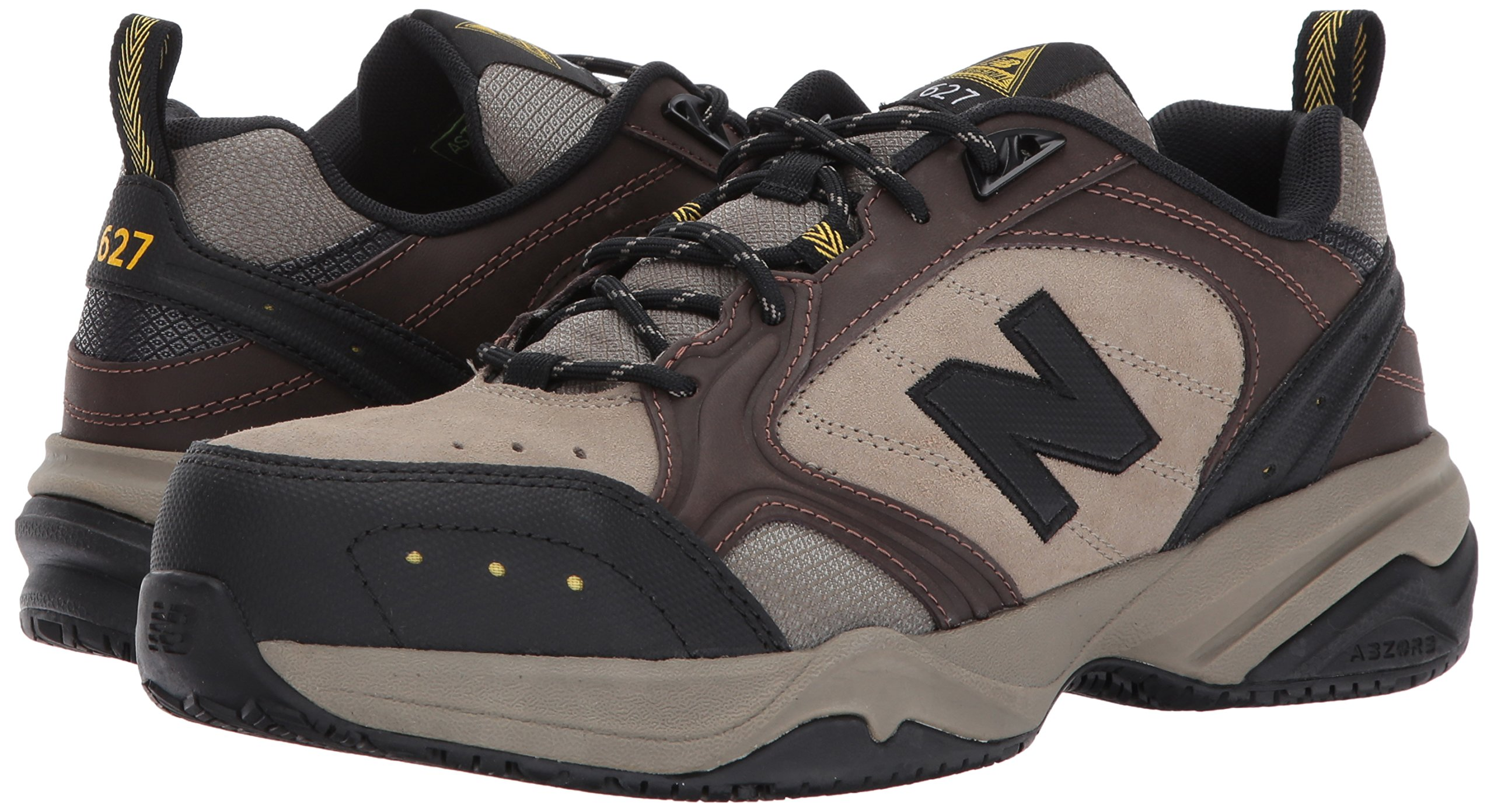 New Balance Men's MID627 Steel-Toe Work Shoe,Brown,18 4E US by New Balance (Image #6)