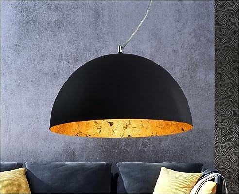 luxus hngelampe hngeleuchte studio retro vintage used look deckenlampe gold - Deckenlampe Wohnzimmer Gold