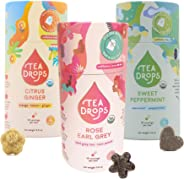 Sweetened Organic Loose Leaf Tea | Assortment 3-Pack Instant Tea Sampler | 30 Bestselling Favorites | Perfect Gift Set for M