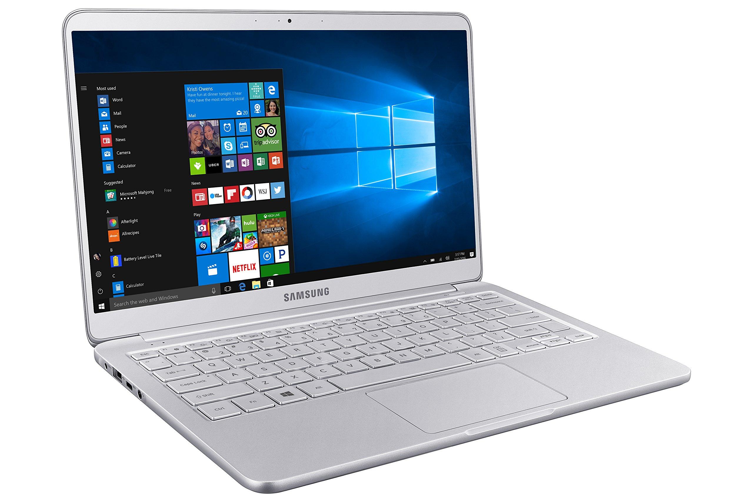 Samsung Notebook 9 Ultra-Slim Laptop, 13.3'' Full HD, Intel i7-7500U, 16GB RAM, Windows 10 Home, Fingerprint Sensor, 1.8lbs, Light Titan - NP900X3N-K04US