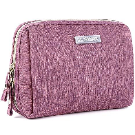 Amazon.com: Bolsa de maquillaje/bolsa de cosméticos de viaje ...
