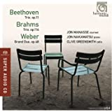 Beethoven: Piano Trio Op.11; Brahms: Clarinet Trio; Weber: Grand duo
