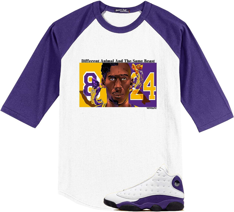 Jordan 13 Lakers Laker Purple