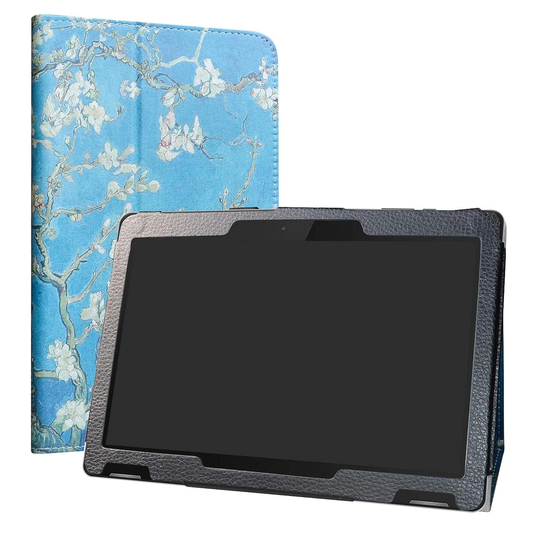 有名ブランド TrekStor Surftab B10 B10ケース、10.1インチ用LiuShan PUレザースリム折りたたみスタンドカバーTrekStor Surftab Surftab B10 Androidタブレット、アーモンドの花 B07L2YMZZJ B07L2YMZZJ, 美美ストア:a3e3b689 --- a0267596.xsph.ru