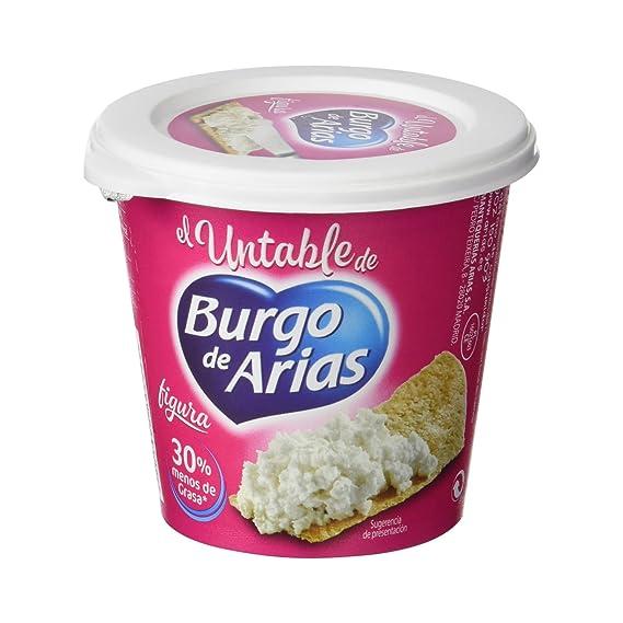 Burgo De Arias - Queso Crema Blanco Untable Figura - 140 g