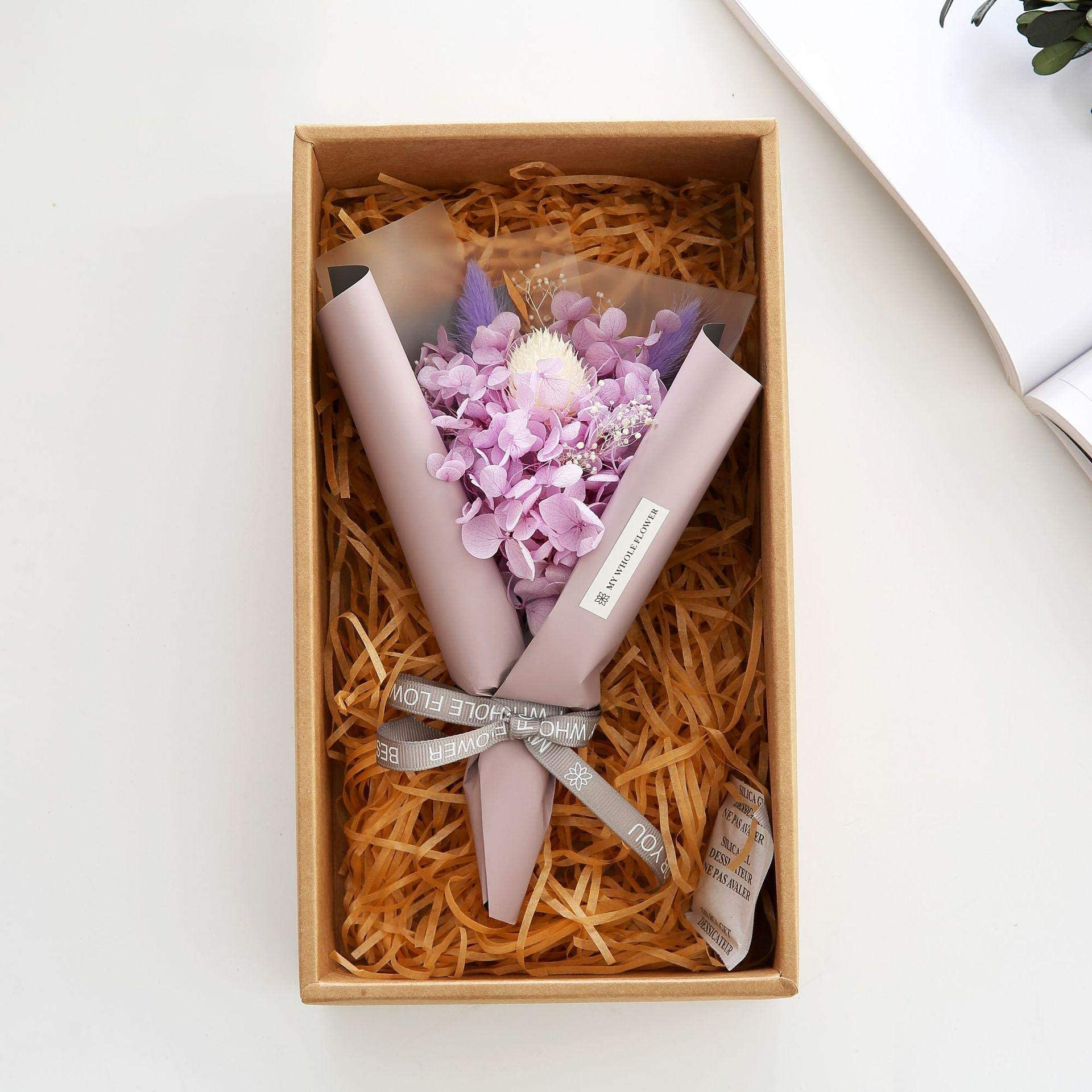 Mini 1 Bunch Flower Bouquet Natural Dried Flower Eternal Bouquet Natural Dried Flower Gift Box Valentine S Day Gift Wedding Decorative Flowers Shop Home Decor Price In Uae Amazon Uae Kanbkam
