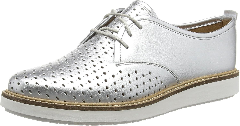 Clarks Glick Resseta, Zapatos de Cordones Derby para Mujer