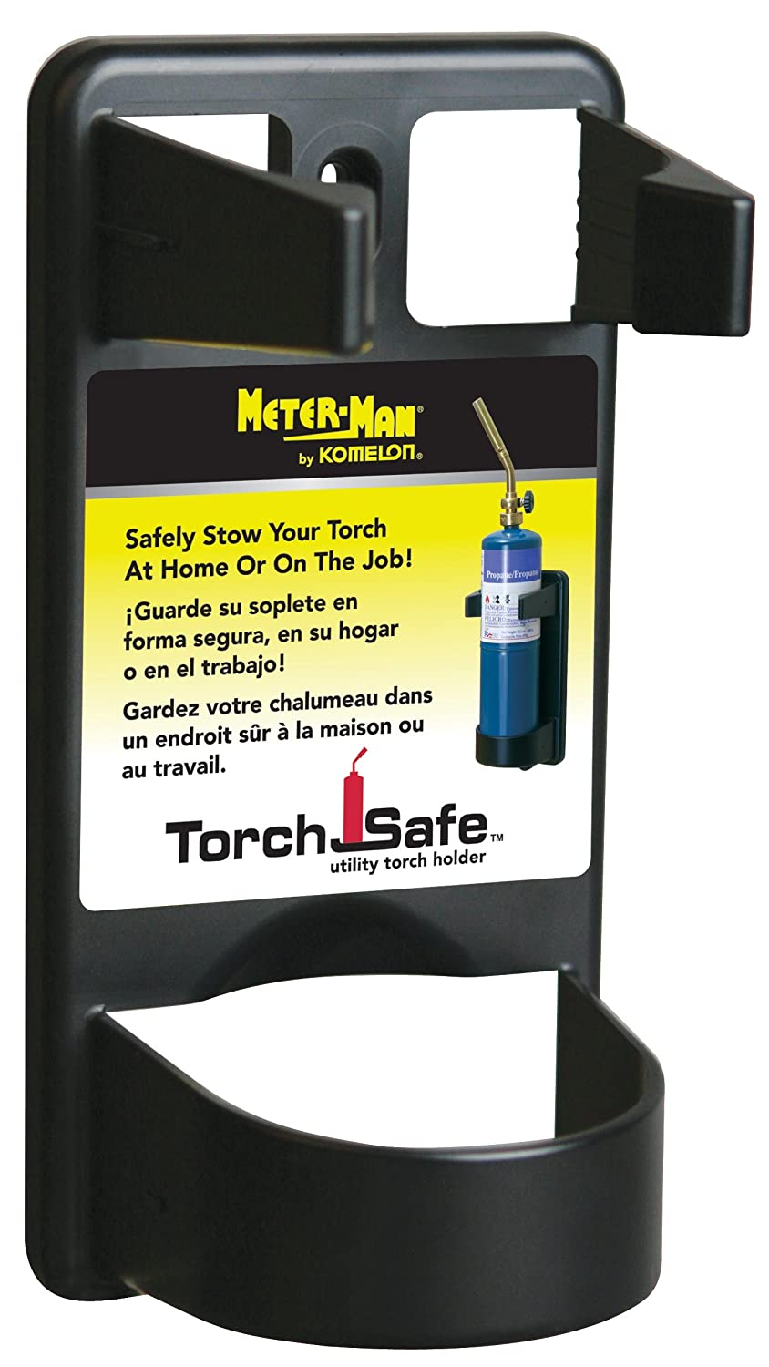 Komelon TS12 Torch Safe Utility Torch Holder Black