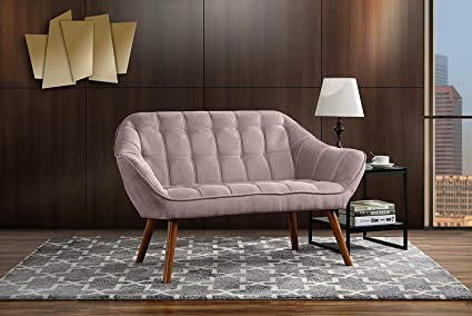 Amazon.com: kwantasmile Living Room Blush Pink Living Room ...