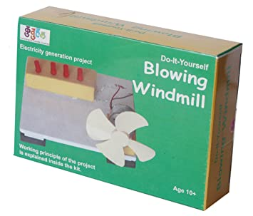 Buy a157 blowing windmill making kit do it yourself school a157 blowing windmill making kit do it yourself school science project solutioingenieria Image collections
