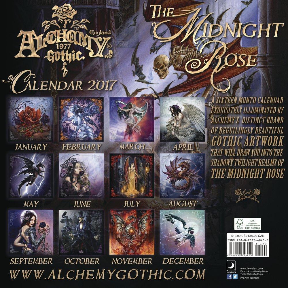 Alchemy Art 2018 Wall Calendar Calendar