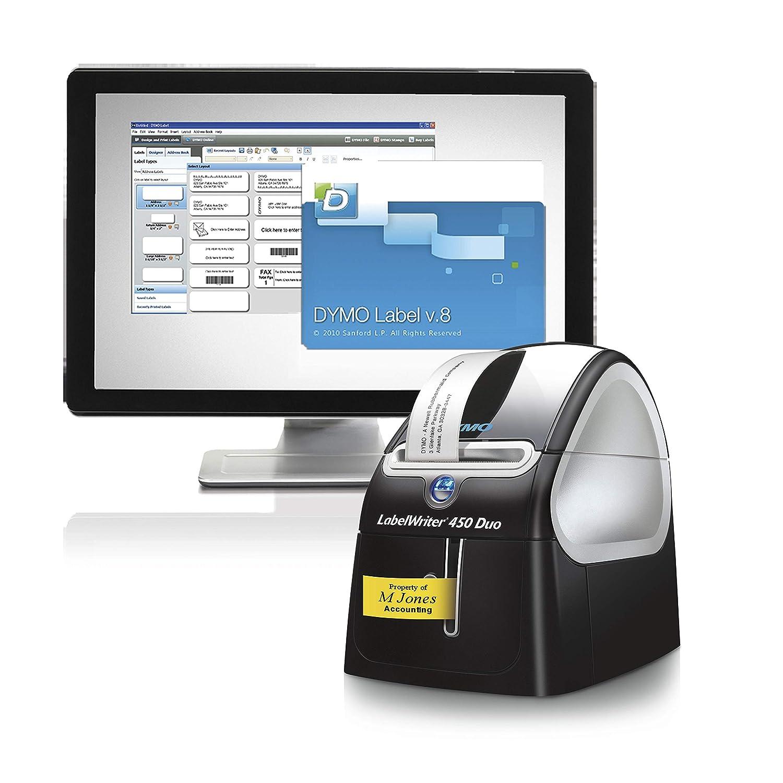 DYMO 1752267 LabelWriter 450 Duo Thermal Label Printer