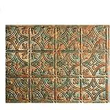 Amazoncom Faux Tin WC20 Patina Copper Decorative Kitchen