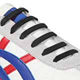 Amazon Price History for:INMAKER No Tie Shoelaces for Kids and Adults, Silicone Flat Shoelaces for Sneaker, Elastic Waterproof Tieless Running Shoe Laces