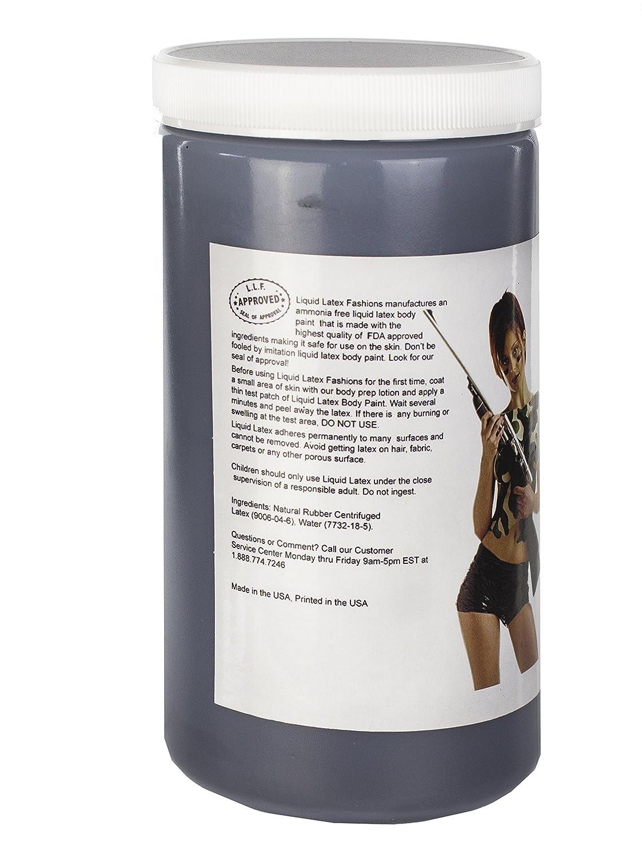 amazoncom ammonia free liquid latex body paint black 32 ounce beauty