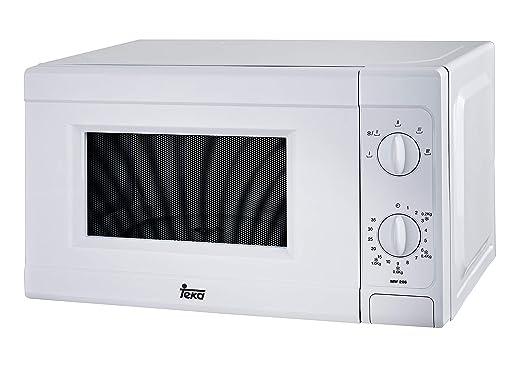 Teka MW206 - Microondas sin grill, 700W, 20 litros, color blanco