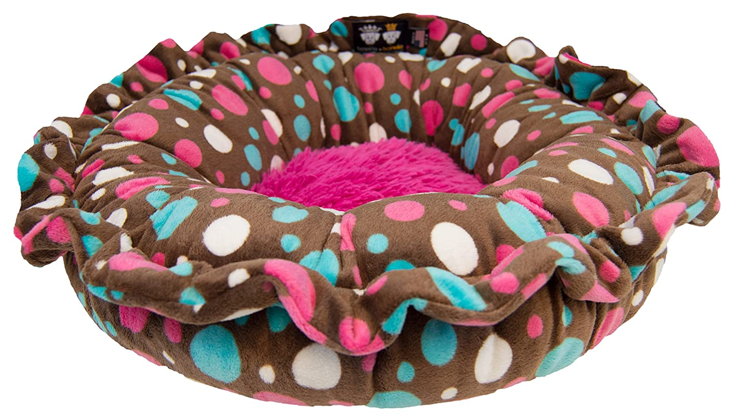 BESSIE AND BARNIE LILYZ-CP LP Lily Pod Cake Pop Lollipop Patch Pet Bed